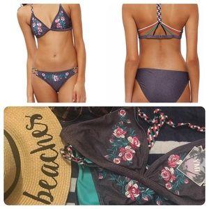 Strappy Racerback Bikini Top and Bottom NBW, NWT